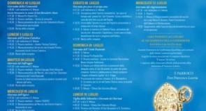 Festeggiamenti per San Benedetto: il programma religioso