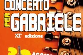 Concerto per Gabriele, XI edizione, 30 agosto 2017