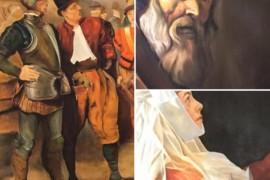 Cerimonia di inaugurazione delle opere pittoriche del Maestro Massimo Tizzano