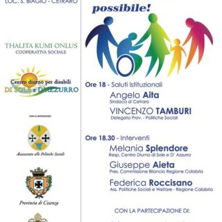 Importante convegno sulle disabilità a Cetraro