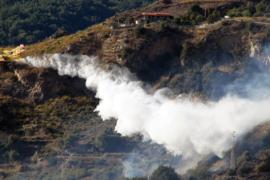 Le foto dell'incendio a Cetraro