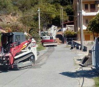 Lampetia: hanno preso il via i lavori della nuova rete fognante