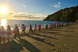 Cetraro e la sua spiaggia si colorano di Rosa…