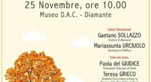 Giornata mondiale contro la violenza sulle donne: incontro a Diamante