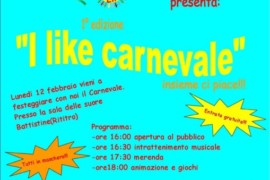 I like Carnevale: prima edizione