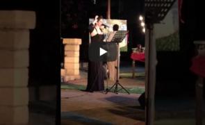 Un soprano calabrese al Palafiori di Sanremo