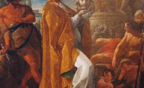 Corrado Giaquinto nel duomo di Crotone