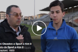 Giovanni Oleastro intervistato da Sport a Km 0: il VIDEO