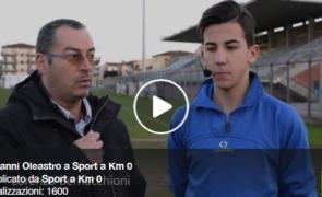 Giovanni Oleastro intervistato da Sport a Km 0: il VIDEO