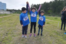 Un altro successo dell'ASD Running School Cetraro ai campionati Fidal di cross