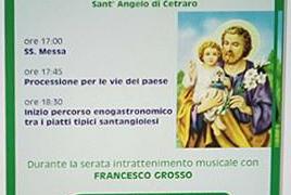 19 marzo 2018: festeggiamenti in onore di San Giuseppe