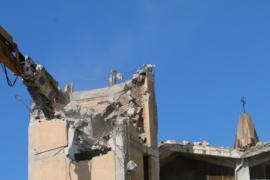 Demolizione chiesa di San Marco a Cetraro: il video del 2014
