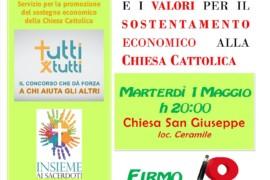 """Incontro formativo: """"Gli strumenti e i valori per il sostentamente economico della Chiesa Cattolica"""""""