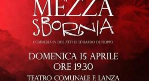 Commedia di De Filippo al teatro F. Lanza di Cetraro: domenica 15 aprile 2018