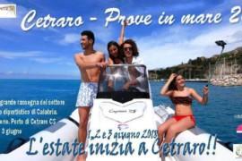 """""""Cetraro – Prove di mare 2018"""": 1, 2 e 3 giugno"""